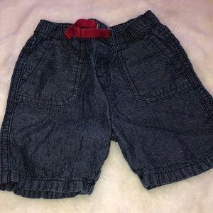 Levi's denim baby boy shorts
